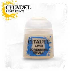 Citadel Layer Paints Screaming Skull