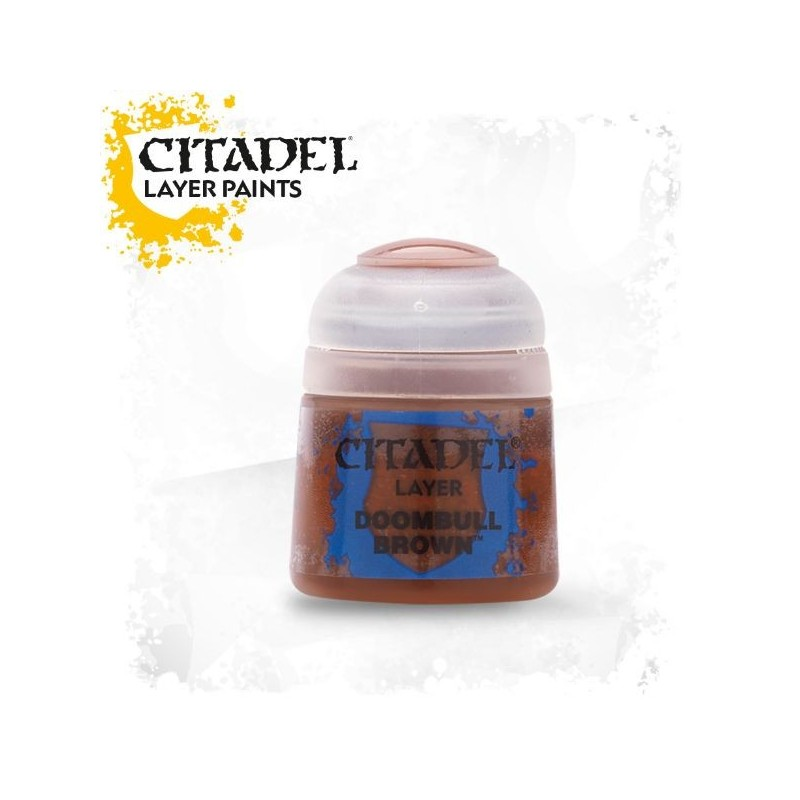 Citadel Layer Paints Doombull Brown