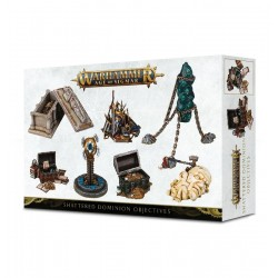 Objectifs Shattered Dominion - Warhammer Age of Sigmar