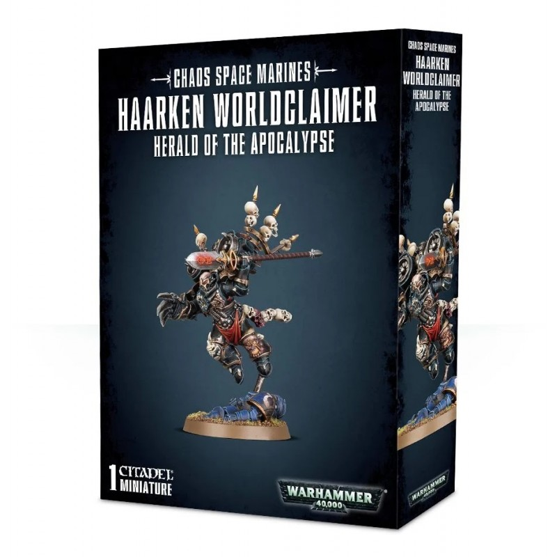 Haarken Worldclaimer, Herald of the Apocalypse - Chaos Space Marines