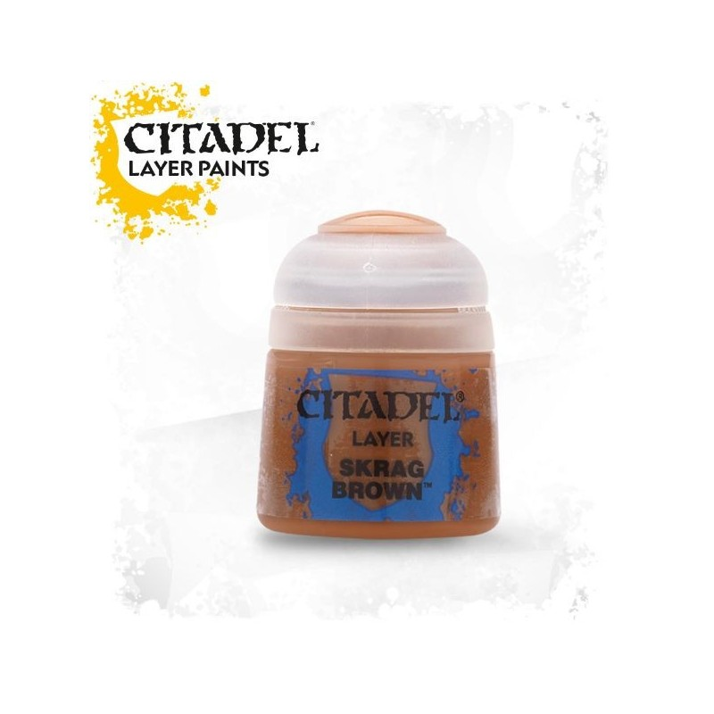 Citadel Layer Paints Skrag Brown