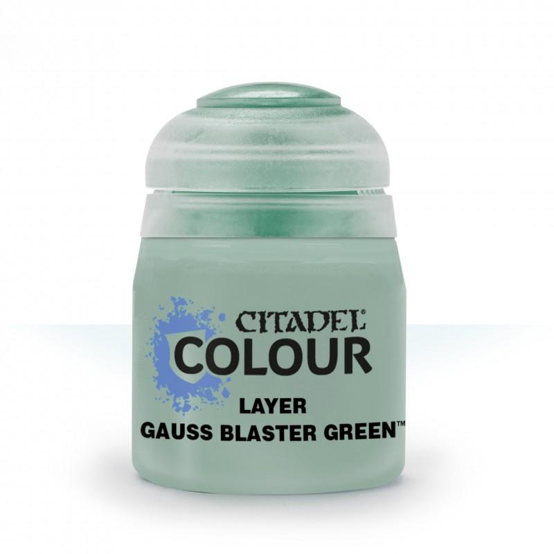 Gauss Blaster Green