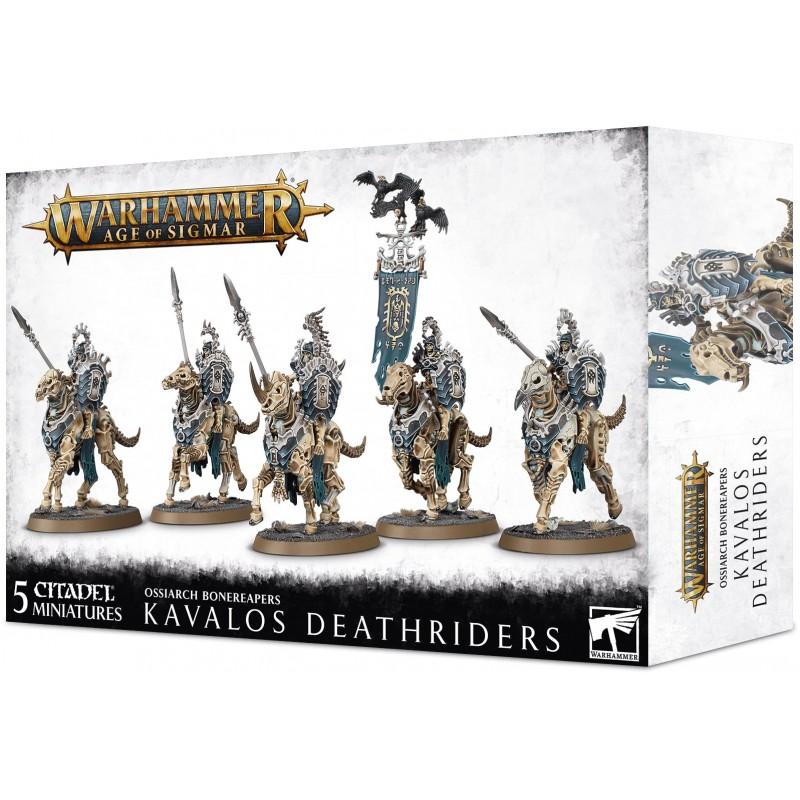 Kavalos Deathriders - Ossiarch Bonereapers