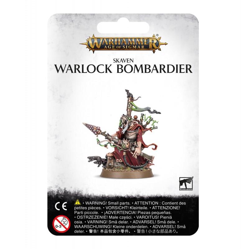 Warlock Bombardier - Skaven