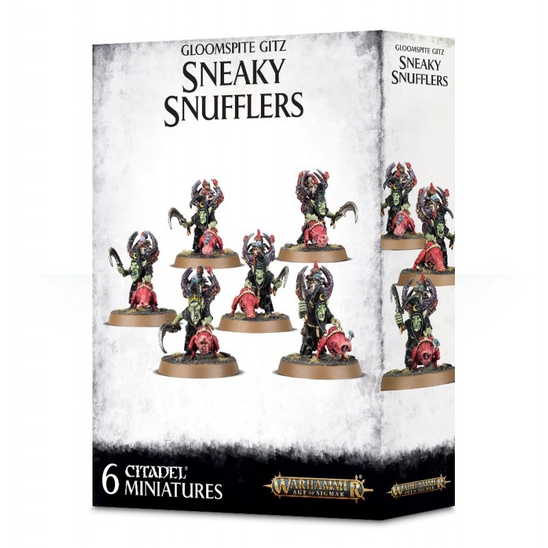 Sneaky Snufflers - Gloomspite Gitz