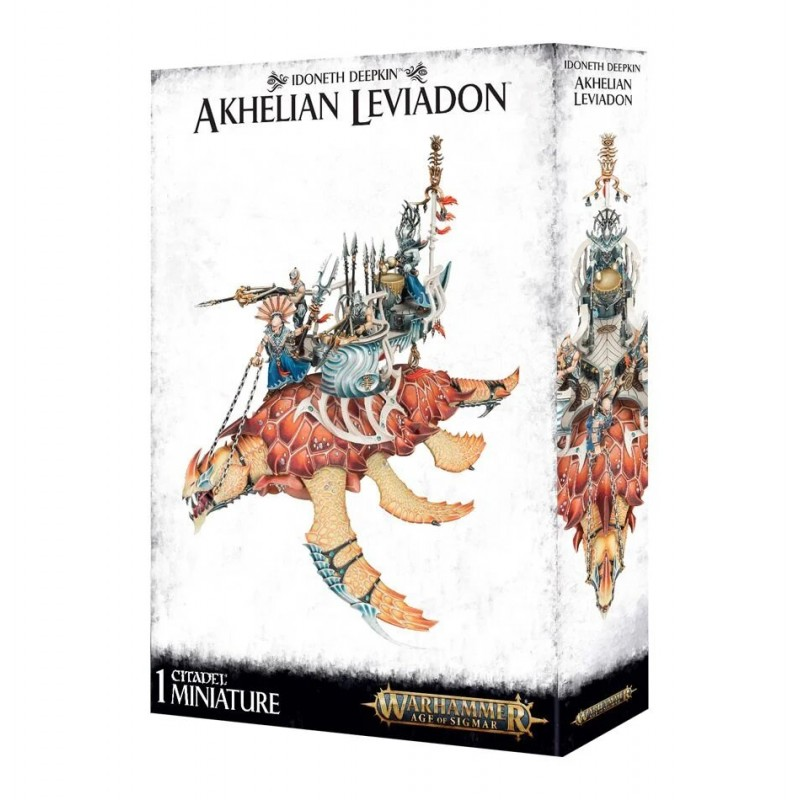 Akhelian Leviadon - Idoneth Deepkin