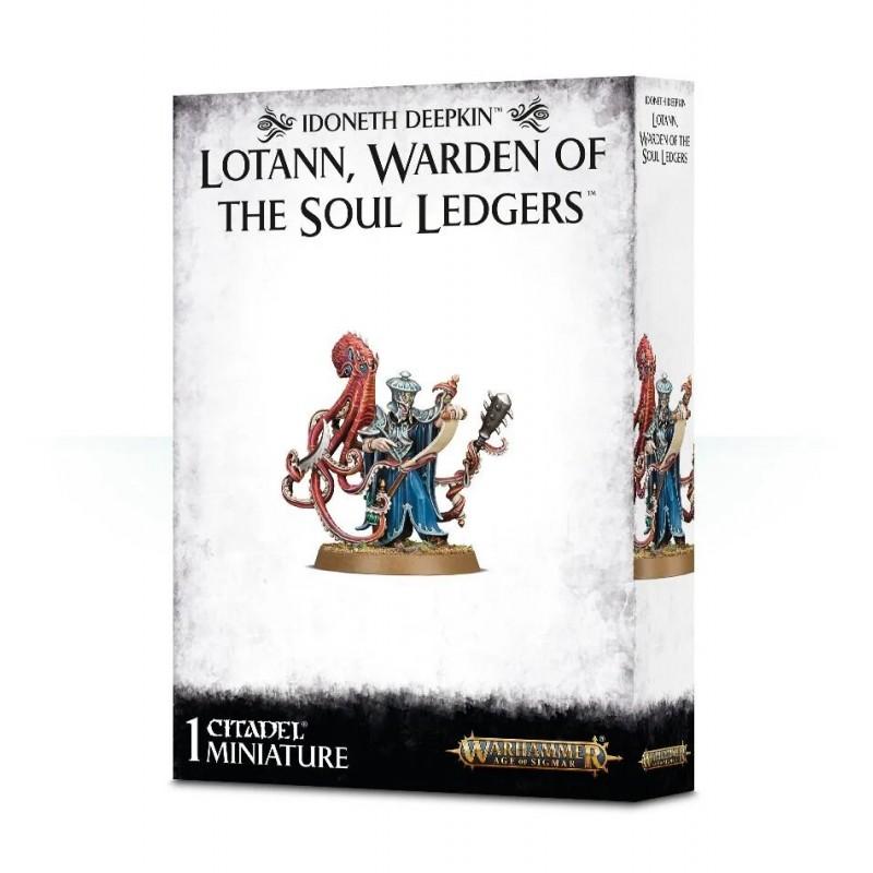Lotann, Warden of the Soul Ledgers - Idoneth Deepkin