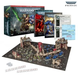 Pré-commande - Warhammer 40,000: État-Major (Command Edition) FR