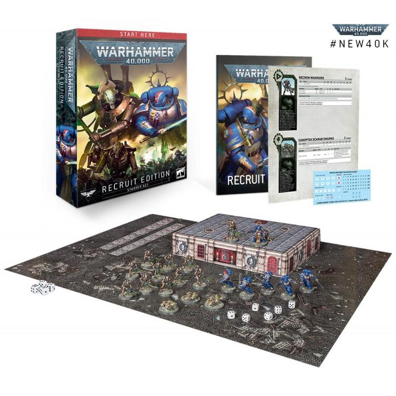 Pré-commande - Warhammer 40,000: Recrue (Recruit Edition) FR
