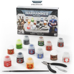 Warhammer 40,000 Paints and Tools Set