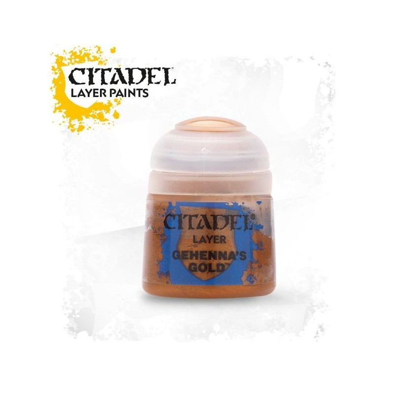 Citadel Layer Paints Gehenna's Gold