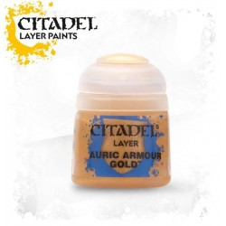 Citadel Layer Paints Auric Armour Gold