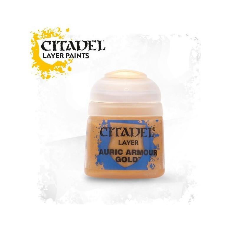 Citadel Layer Paints Auric Armour Gold