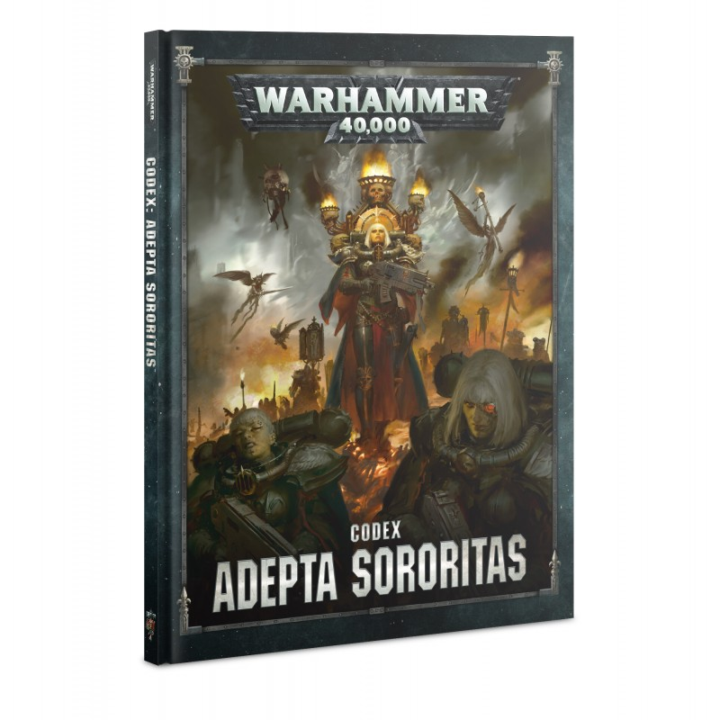 Codex: Adepta Sororitas Sisters of Battle (HB) Français