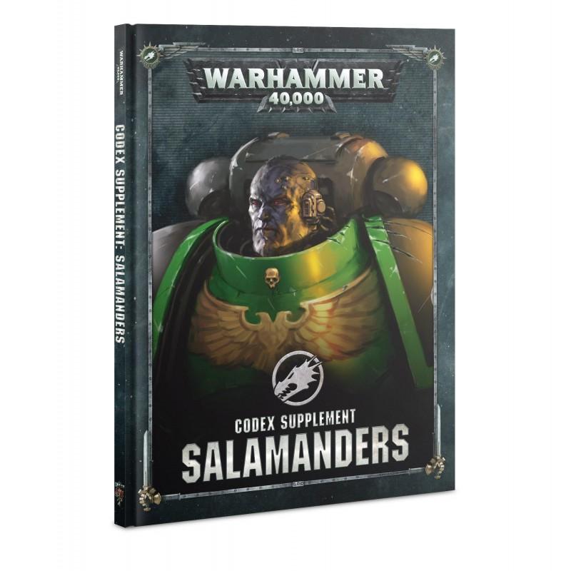 Supplément de Codex: Salamanders (Français)