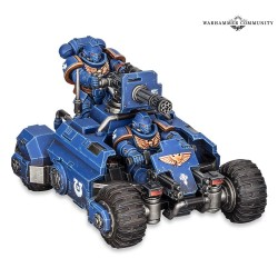 Quad Invader Primaris - Space Marine
