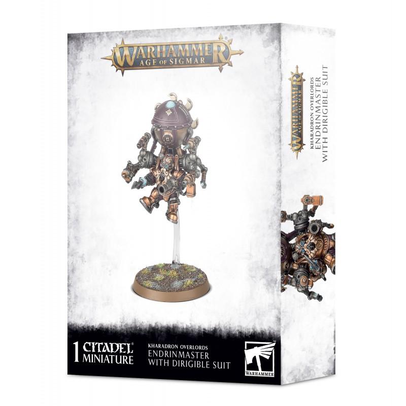 Endrinmaster avec dirigeable dorsal - Kharadron Overlords