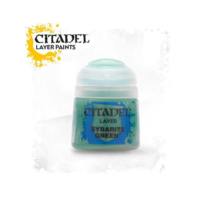Citadel Layer Paints Sybarite Green