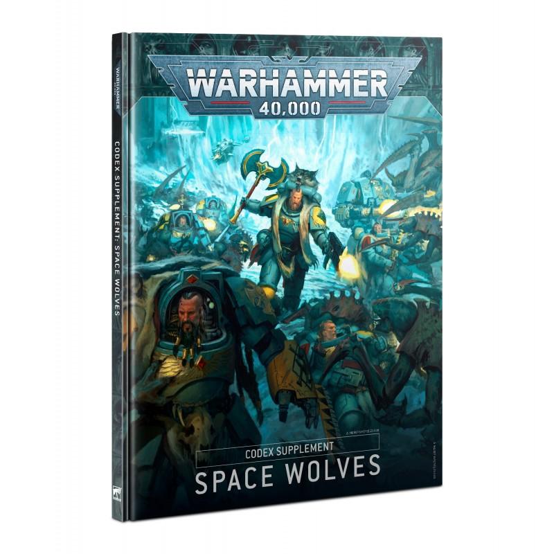 Supplément de Codex: Space Wolves V9 (HB) (Français)