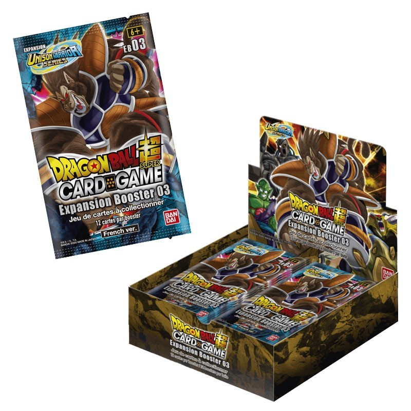 Expansion Booster 3 x24 (13/11) x24 - DRAGON BALL SUPER CARD GAME