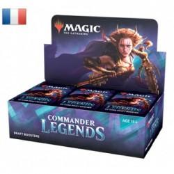 Commander Legends Draft - Boite de 24 Boosters - FR - livrée chez vous