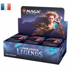 Commander Legends Draft - Boite de 24 Boosters - FR - Retrait magasin
