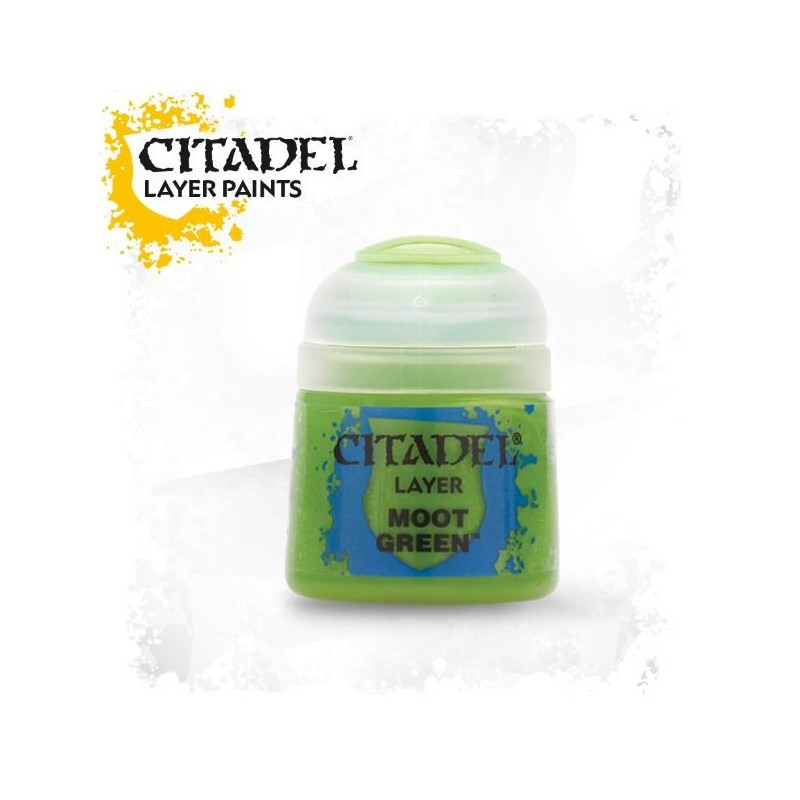 Citadel Layer Paints Moot Green