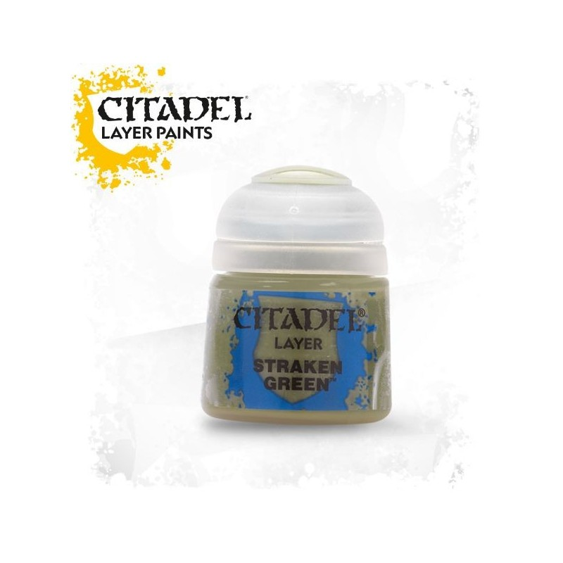 Citadel Layer Paints Straken Green
