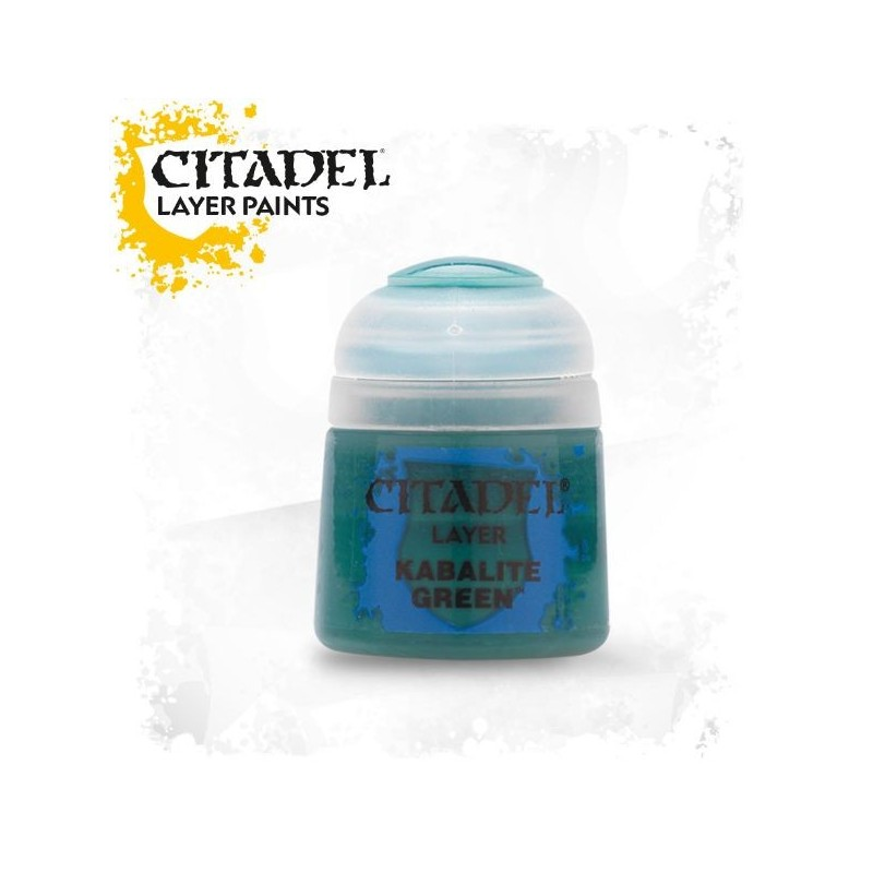 Citadel Layer Paints Kabalite Green