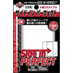 KMC Standard Sleeves - Side-In Perfect (100 Sleeves)
