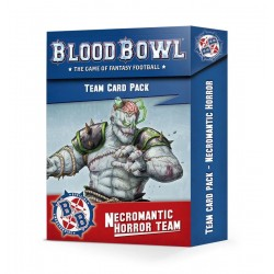 Précommande - Blood Bowl Necromantic Horror Team Card Pack (Anglais)