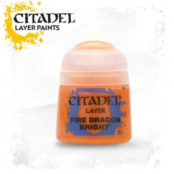 Citadel Layer Paints Fire Dragon Bright