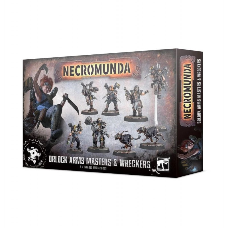 Orlock Arms Masters and Wreckers - Necromunda: Underhive