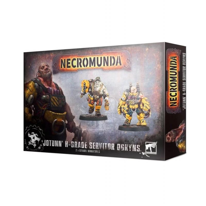 Jotunn H-Grade Industrial Servitor Ogryns - Necromunda: Underhive