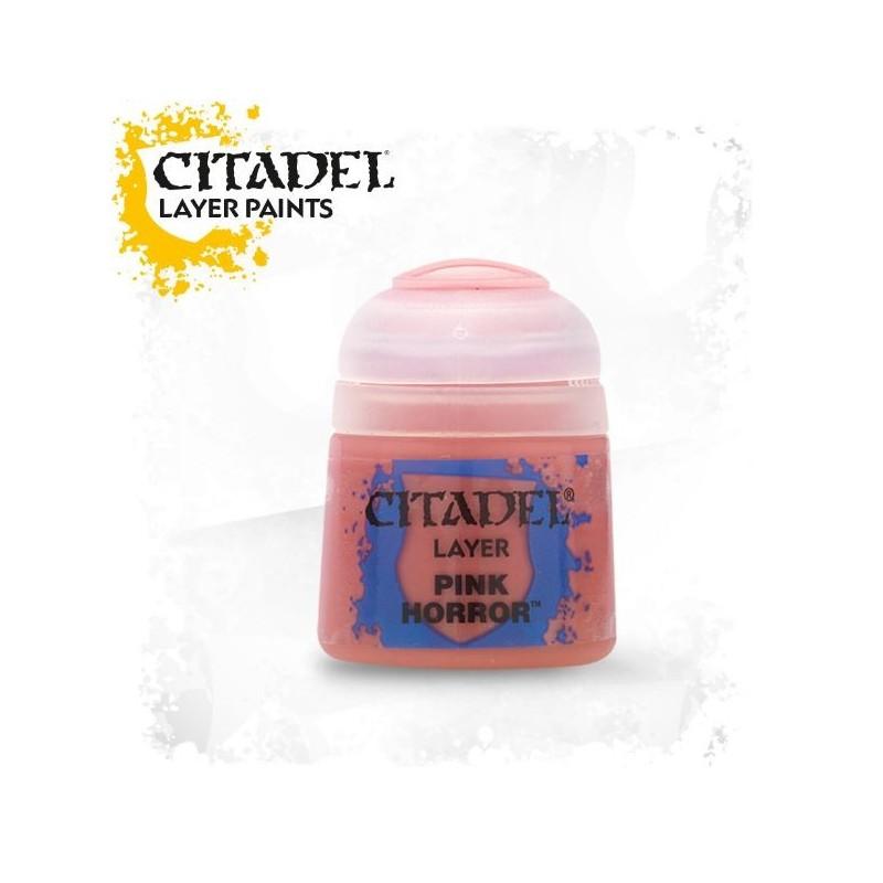 Citadel Layer Paints Pink Horror