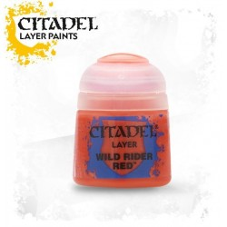 Citadel Layer Paints Wild Rider Red