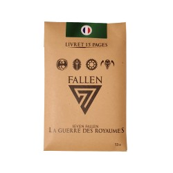 Livret (Booster) de 15 cartes - 7 Fallen