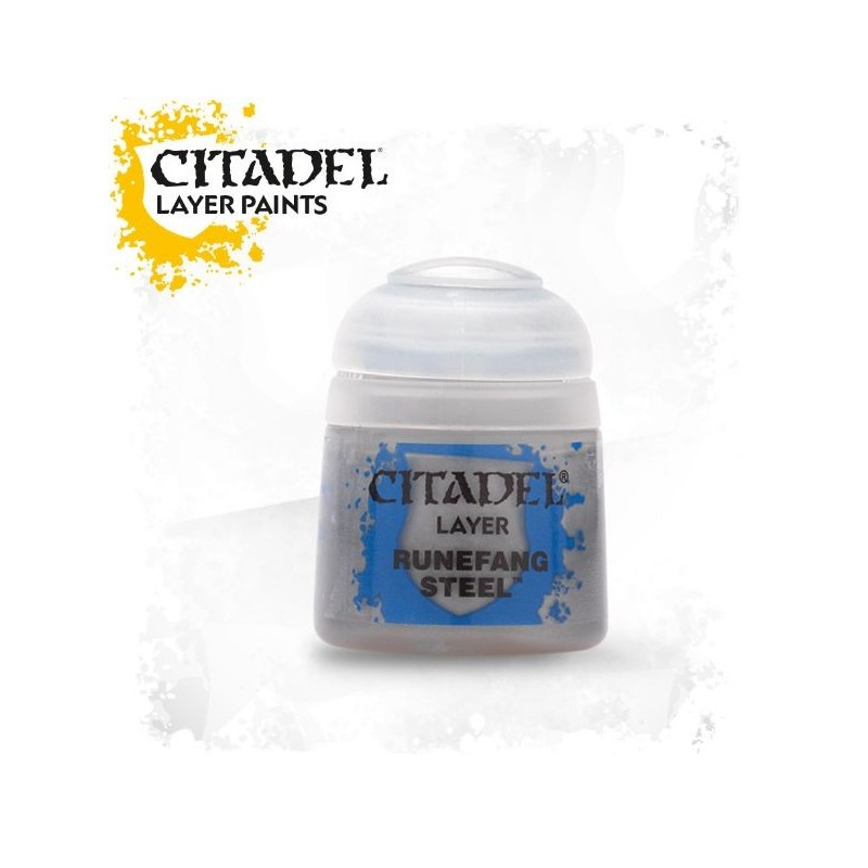 Citadel Layer Paints Runefang Steel