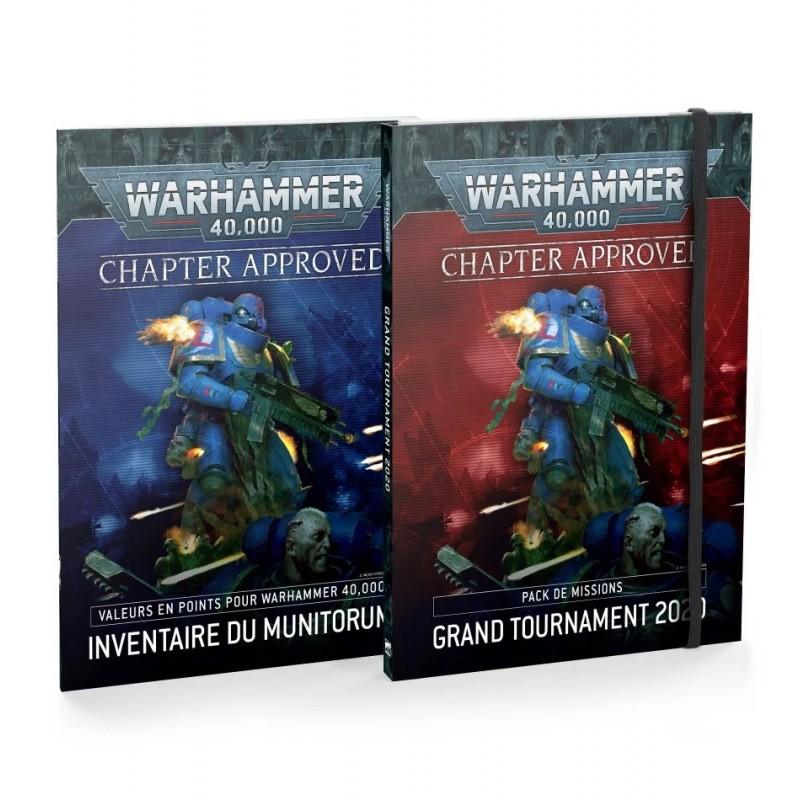 Chapter Approved: Pack de Missions Grand Tournament 2020 et Inventaire du Munitorum