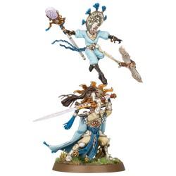 Ellania and Ellathor, Eclipsian Warsages - Lumineth Realm Lords