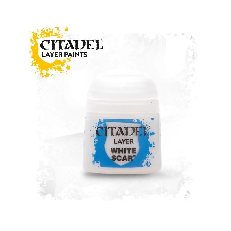 Citadel Layer Paints White Scar