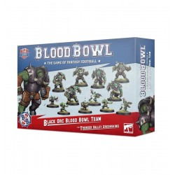 Équipe d'Orques Noirs: les Thunder Valley Greenskins - Blood Bowl