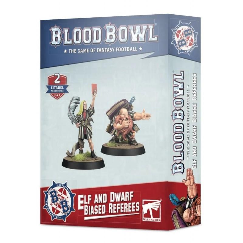 Arbitres Partiaux Elfe et Nain - Blood Bowl
