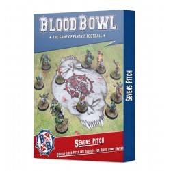 Terrain de Blood Bowl à Sept: terrain et fosses double face - Blood Bowl