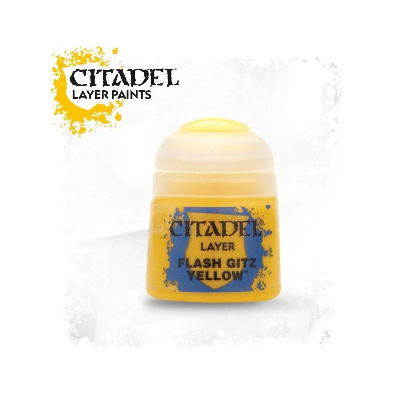 Citadel Layer Paints Flash Gitz Yellow