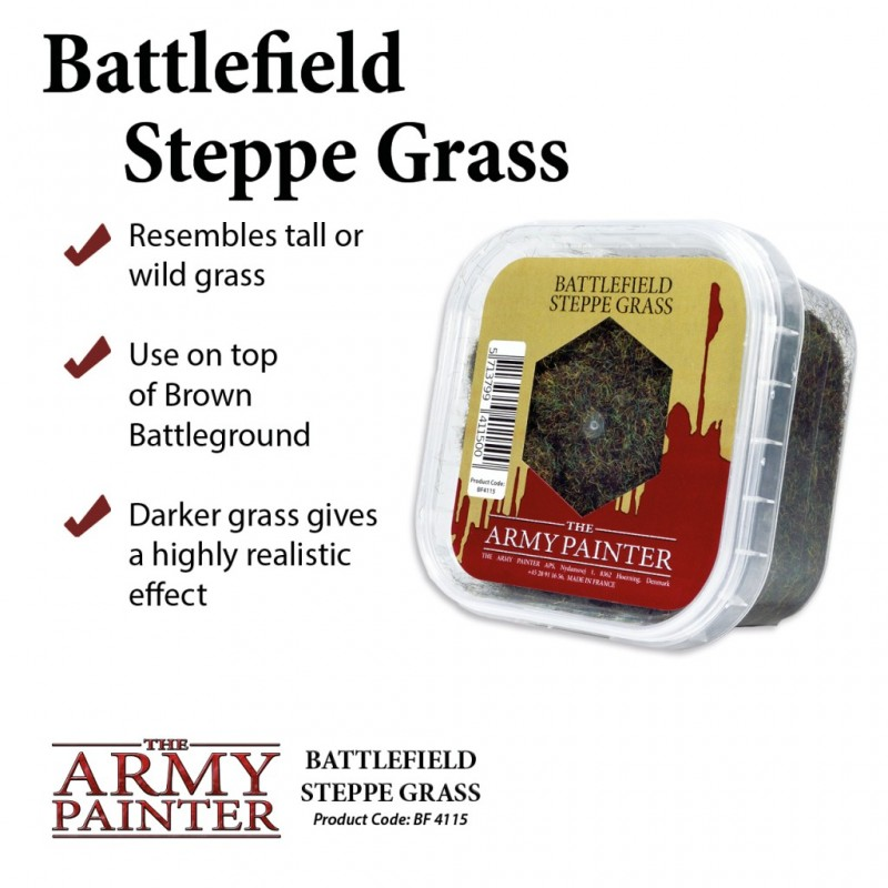 Battlefield Steppe Grass - Army Painter