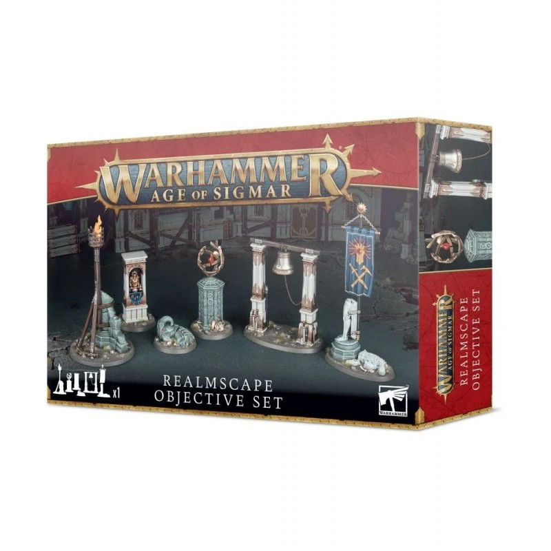 Set d'Objectifs des Royaumes - Warhammer Age of Sigmar