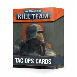 Cartes d'opés tactiques de Kill Team - Warhammer 40,000