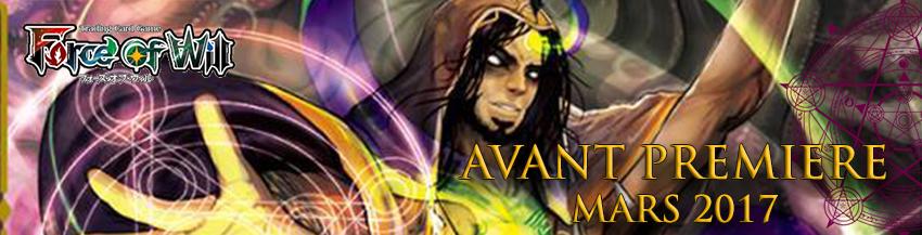 avant-première Force of Will: Echos du nouveau monde